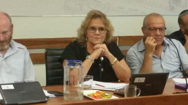 מנהלת אגף החינוך אורלי פרומן. צילום אריה אברמזון