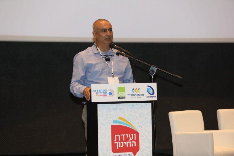 מזכיר סניף איילון בארגון המורים ברוך בן יגאל. צילום עזרא לוי