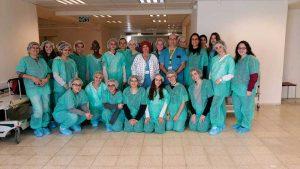 """ביקור בחדר ניתוח. צילום באדיבות עיריית כפ""""ס"""