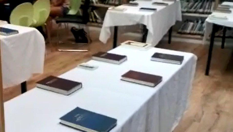 בית הכנסת בספריית הנדיב