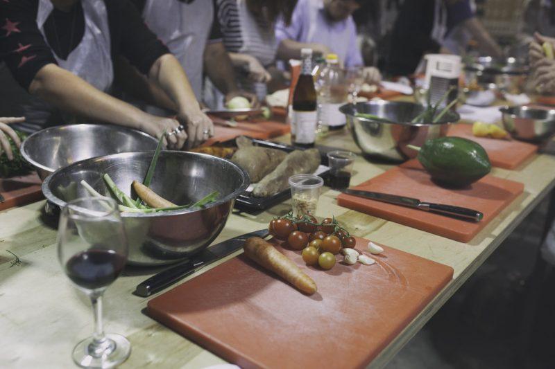 הסטודיו לבישול בתל אביב (צילום: עדי בן שושן)