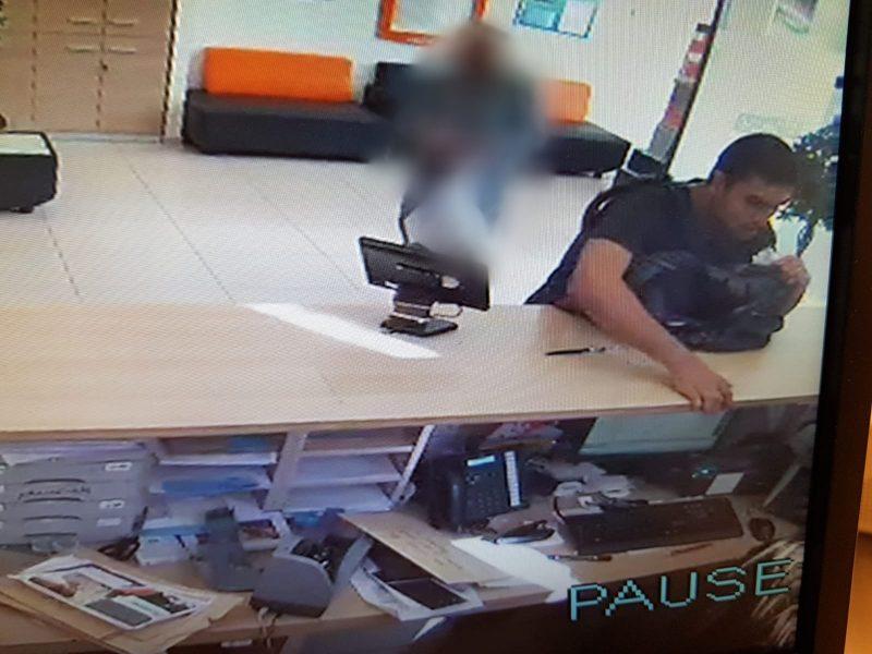 החשוד בשוד הבנקים