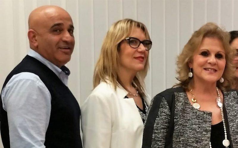 מימין: אורלי פרומן, אורית ליבוביץ ויהורם לוי. צילום אריה אברמזון