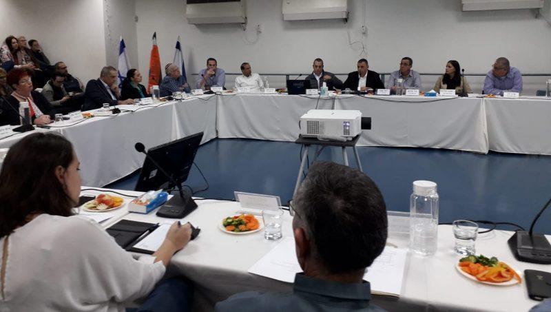 ישיבת מועצת עיריית כפר סבא. צילום אריה אברמזון