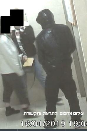 החשוד בבניין ברחוב חטיבת גולני