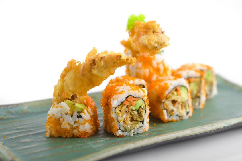 מנת סושי משובחת במסעדת ימאטויה