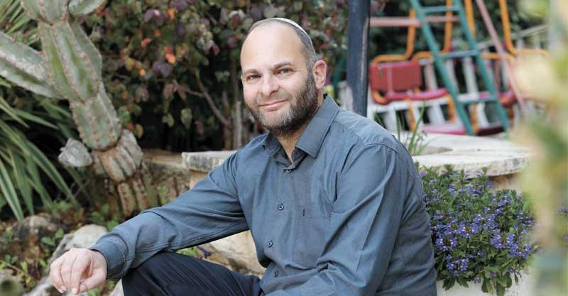 הרב ליאור אנגלמן. צילום עזרא לוי