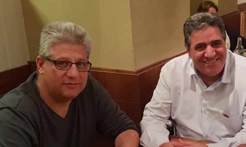 דרור אטרי (מימין) ואורן כהן