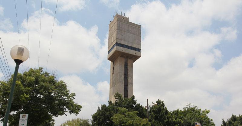 מגדל המים בכפר סבא. צילום עזרא לוי