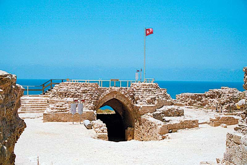 מבצר אפולוניה. צילום ניר קידר