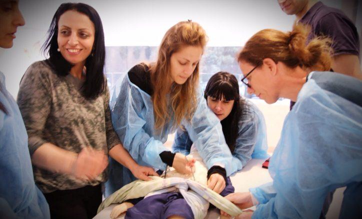 הקורס בבית החולים מאיר. צילום באדיבות בית החולים