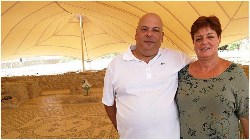 רני אברבוך ואשתו יעל