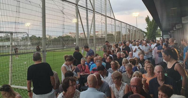 מאות האנשים שהגיעו לאירוע אתמול. צילום באדיבות עמותת הלב הירוק