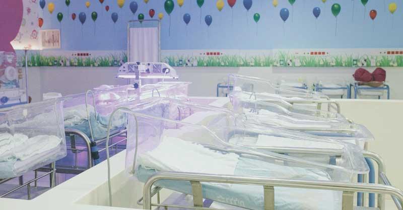מחלקת יולדות החדשה בבית חולים מאיר. תמונה באדיבות דוברות בית החולים מאיר