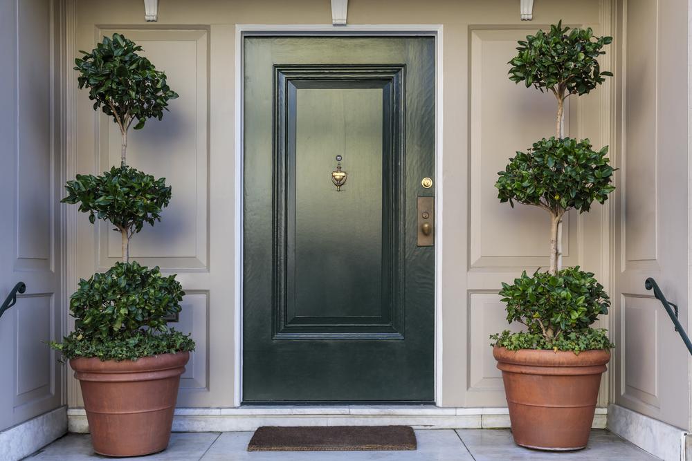 דלתות כניסה ופנים. (Shutterstock) צילום: David Papazian