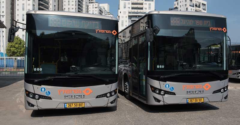 """אוטובוסים של מטרופולין. צילום יח""""צ מטרופולין"""