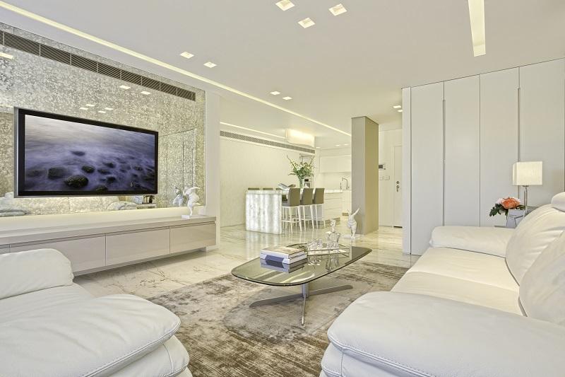 דירה יוקרתית במודיעין. עיצוב מודרני. צילום:דימיטרי פיסטרוב