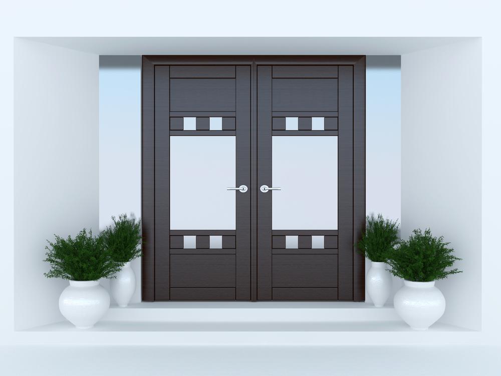 דלתות לבית בשרון. (Shutterstock) צילום:Anna Oleksenko