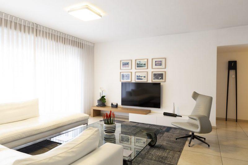 מנצ מילר -דירת שלושה חדרים בתל אביב סגנון עיצוב אקלקטי. צילום שני הלוי