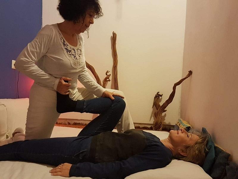 מוריה מיאלי: למגע יש כוח מרפא. צילום: אלמוג מיאלי