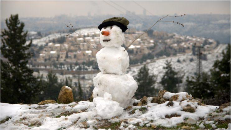 איש שלג. צילום א.ס.א.פ קריאייטיב/INGIMAGE