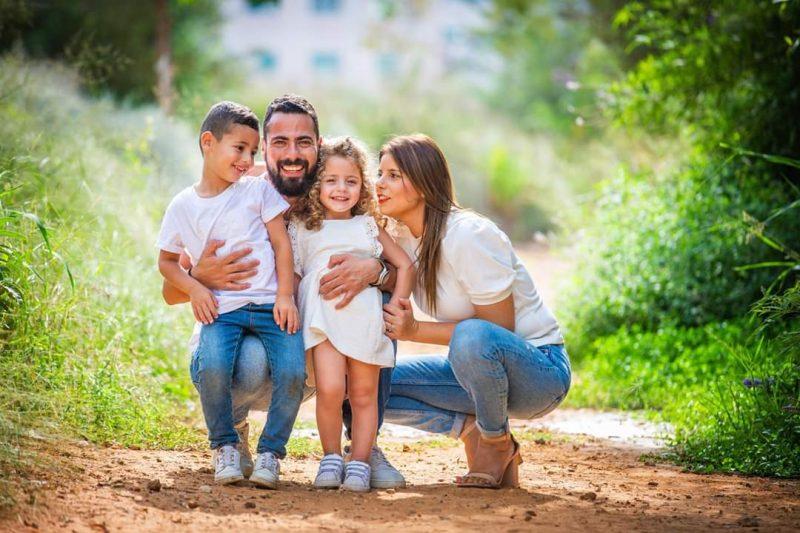כל משפחה והאושר שלה. צילום: שרית זיו
