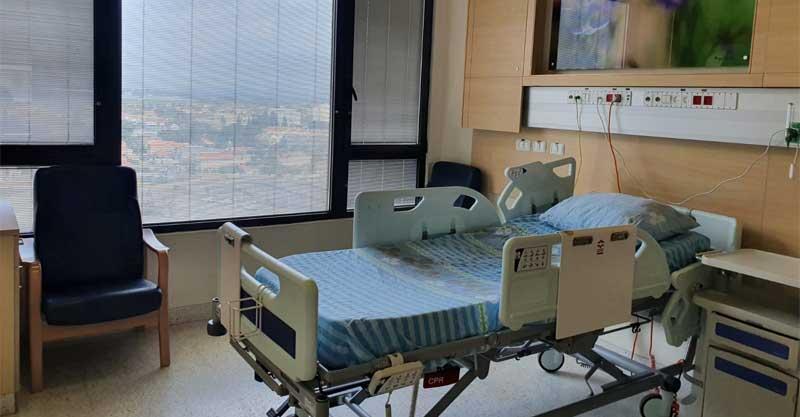 מחלקת קורונה בבית החולים מאיר