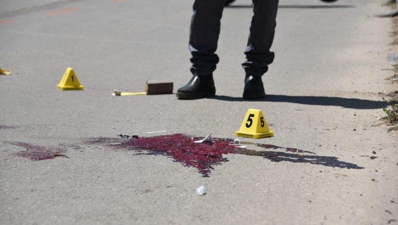 זירת הפיגוע. צילום משטרת ישראל