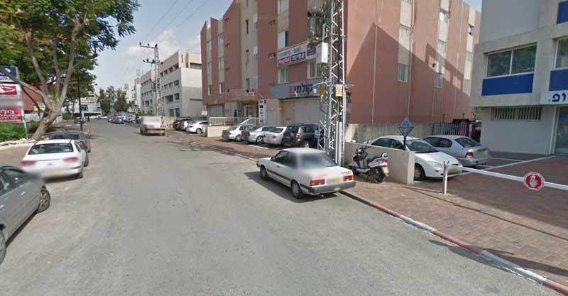רחוב הנגר. צילום מתוך גוגל מפות