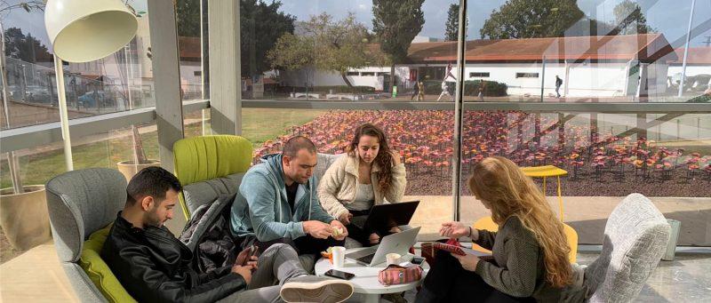 המרכז האקדמי רופין: הדרך החדשה לניהול נכון בעידן פוסט קורונה. בתמונה: מתחמי Welearn – מתקדמים - לימוד מתקדם בלב קמפוס ירוק. צילום: המרכז האקדמי רופין